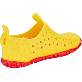 speedo Jelly Water Shoes Kids empire yellow/lava red